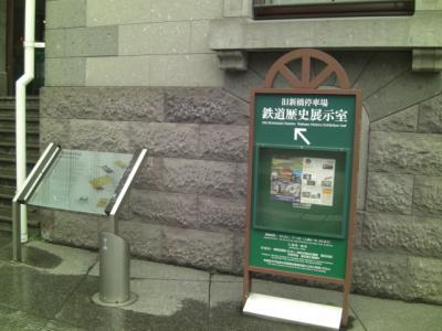 旧新橋停車場鉄道歴史展示室