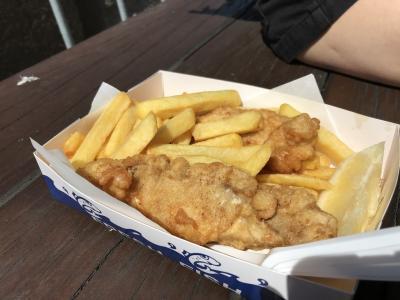 鮮魚屋のフィッシュ&チップス