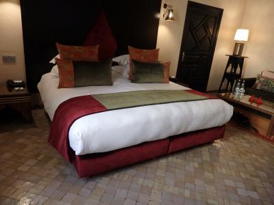 とても寝心地が良かった、大きいベッド