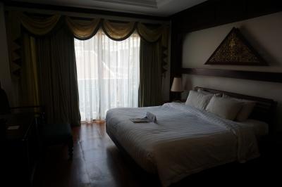 落ち着いた部屋。