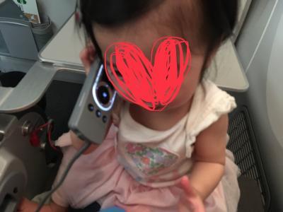 一歳の娘を連れてハワイ旅行