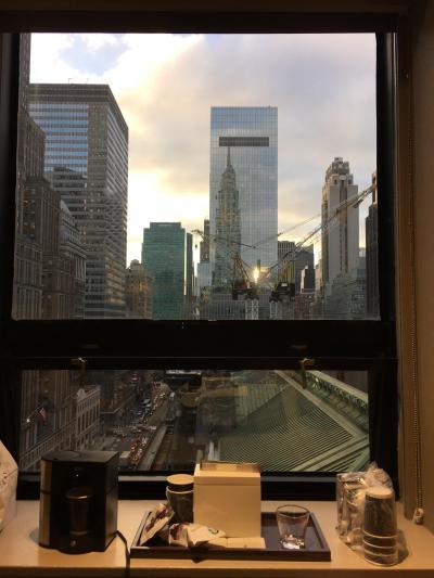 客室からの眺望はニューヨークらしくてとても良かったです