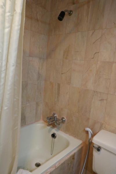 シャワーヘッドが、固定式
