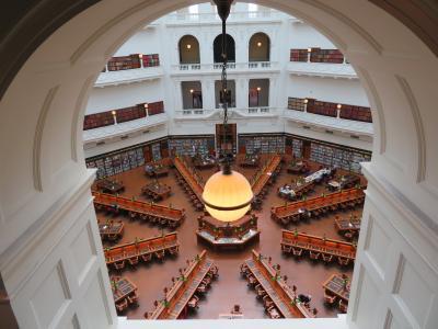 ホスピタリティ溢れる図書館。