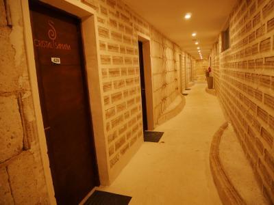 部屋前の廊下