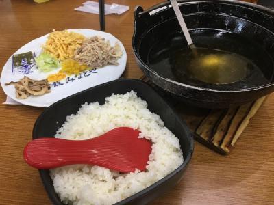 昭和天皇も食した鶏飯らしいです