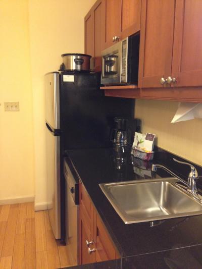 家のキッチンと変わりなく調理できますよ