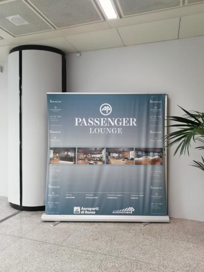 Passenger Lounge:ローマフィウミチーノ空港(レオナルドダヴィンチ空港)プライオリティパスで入れるラウンジ