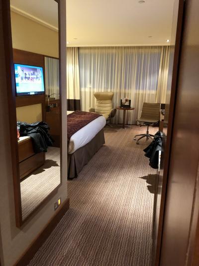 ターミナル5から徒歩数分の便利な5つ星ホテル