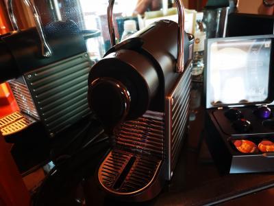 希望したら持ってきてくださったコーヒーメーカー
