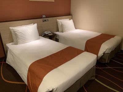 非常に快適なホテル