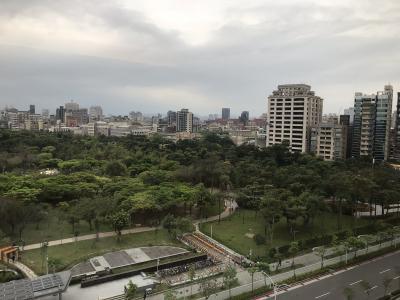 窓からの眺め(大安森林公園)