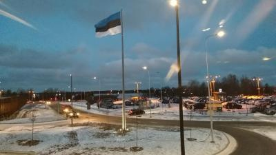 エストニアが詰まったシャレた空港