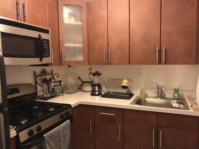 とても清潔なキッチンでした。水周りも全て綺麗でした。