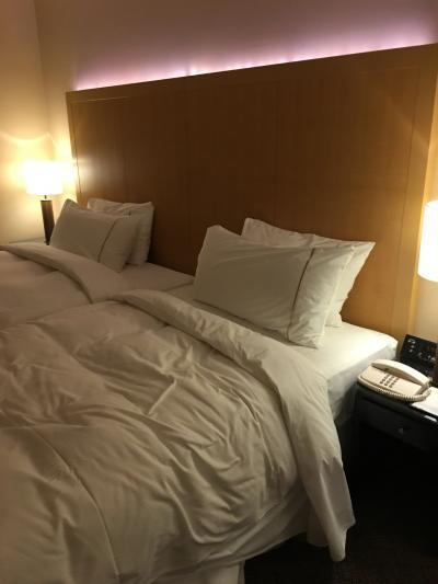 便利なホテル  やっと高層階に宿泊出来ました!