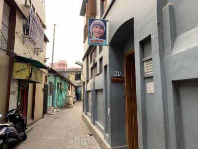 コルカタといえば、マザーテレサのマザーハウス。コルカタの現地を見て、シスターの偉大さが実感できる
