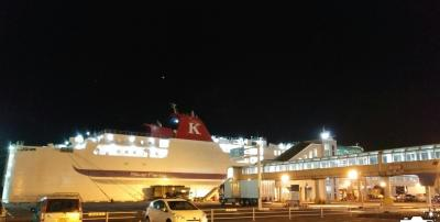 まだ新しいシルバーティアラに乗船しました。
