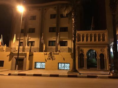モロッコのホテルって感じ