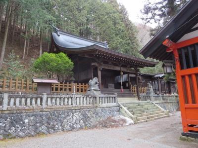 奈良井宿の端にありました