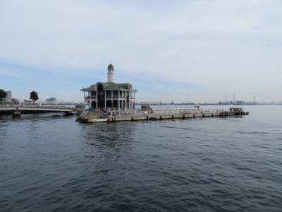 横浜港の観光船が発着します