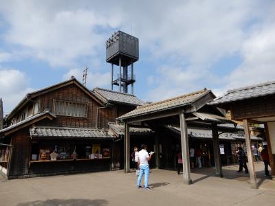 突然、江戸の町が現れました
