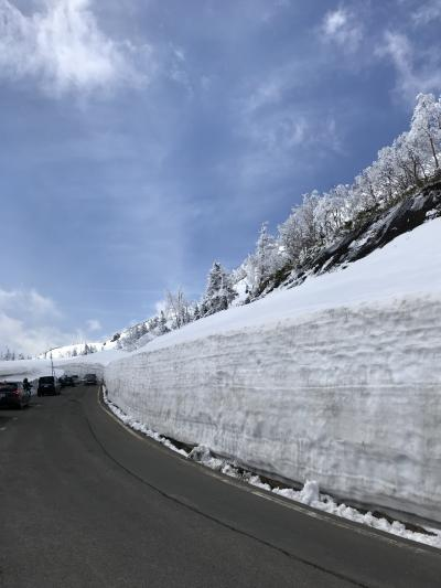 GWに雪の回廊