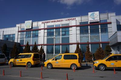 カッパドキアへの空港。