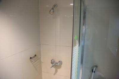 シャワーのみ。お湯は十分