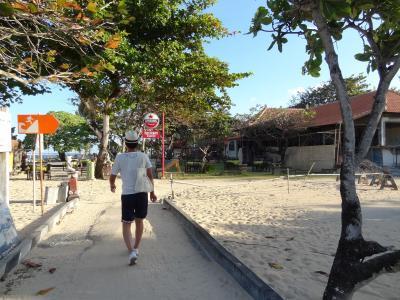 海沿いの遊歩道です