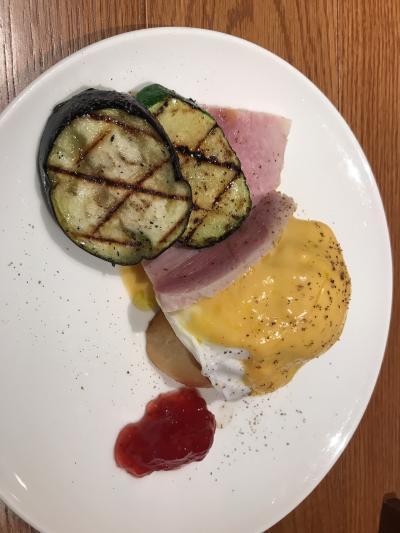 キャナルシティ博多直結、朝食が美味しい。