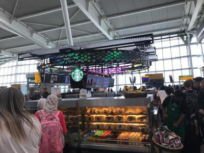 ヒースロー空港ターミナル5内の中心部