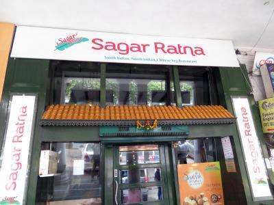 デリーで南インド料理を食べるのならココ。