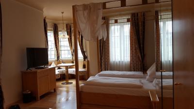 旧市街に近くロマンチックな素敵ホテル