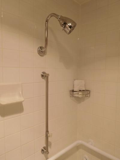 シャワーは固定式のみ