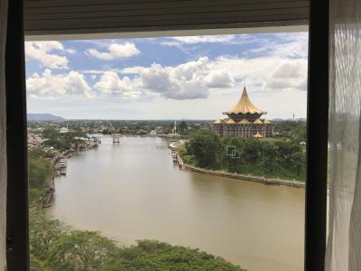 サラワク川の眺めは1番