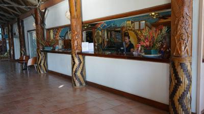 キング・ソロモンホテルの施設内の壁画です。鮮やかな配色です。