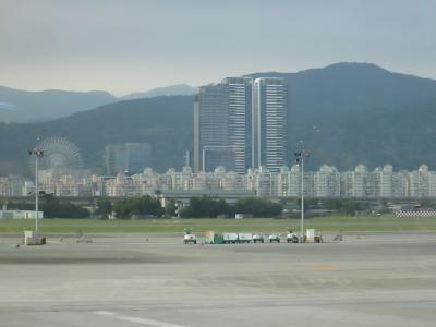 松山空港から見える外観