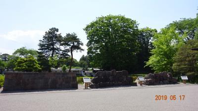 興味のある方は、金沢城には「石垣めぐり場内ルート」という散策コースが設定されています。
