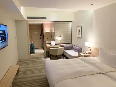 シンプルで清潔なホテルです