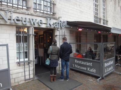 アムステルダムの軽食やちょっと一休みには、ぜひここへ
