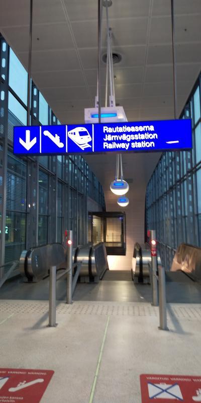 ヘルシンキ中央駅まで30分