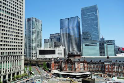 7階のテラスからは東京駅が良く見えます。