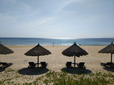 ホテル目の前のビーチ