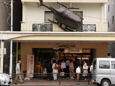 訪日客に人気の食品サンプル店!