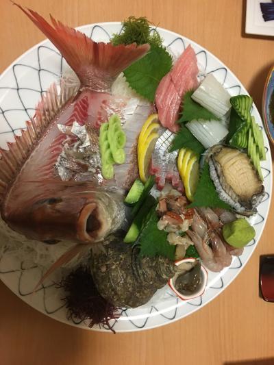 景色が良くて新鮮な海鮮が食べれる