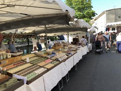 街全体にマーケット