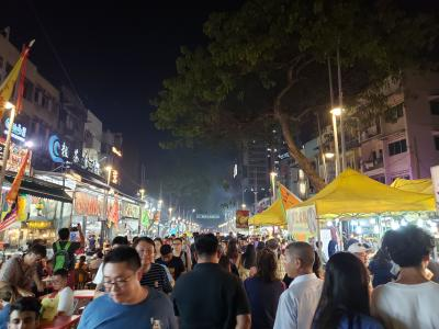 台北夜市を思い出す