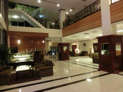ホテルロビー