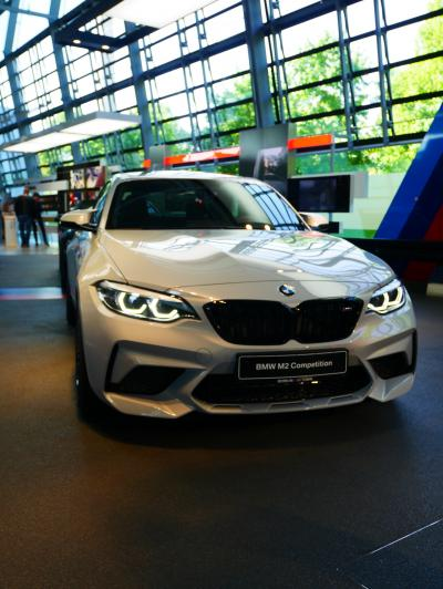最新のBMWの車を見ることができます