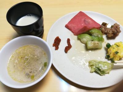 朝食美味しい!